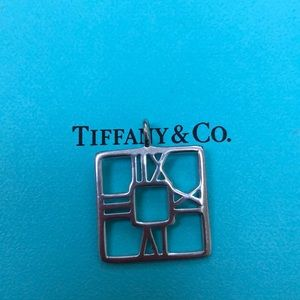 Tiffany & co Atlas charm or pendent
